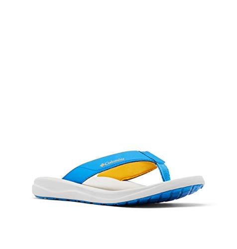 Columbia Herren Flip-Flop, Blau (Hyper Blue/Bright Ringelblume), 46 EU