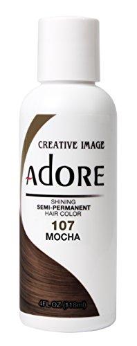 Adore Shining Semi-Permanent Haarfarbe, 107 Mokka