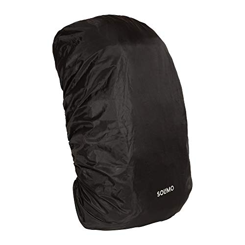 Amazon Brand – Solimo Rain & Dust Cover for Backpack (50 litres, Black)