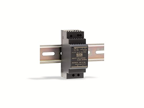 Mean Well DIN-rail voeding 24W, 12V, 2A, MeanWell HDR-30-12, paneelmontage