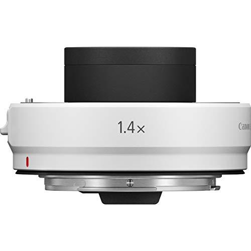 Canon Objektiv Extender RF 1.4X - für Canon RF Objektive (1,4-fache Brennweiten-Verlängerung, für RF-Bajonett optimiertes Linsendesign), hellgrau
