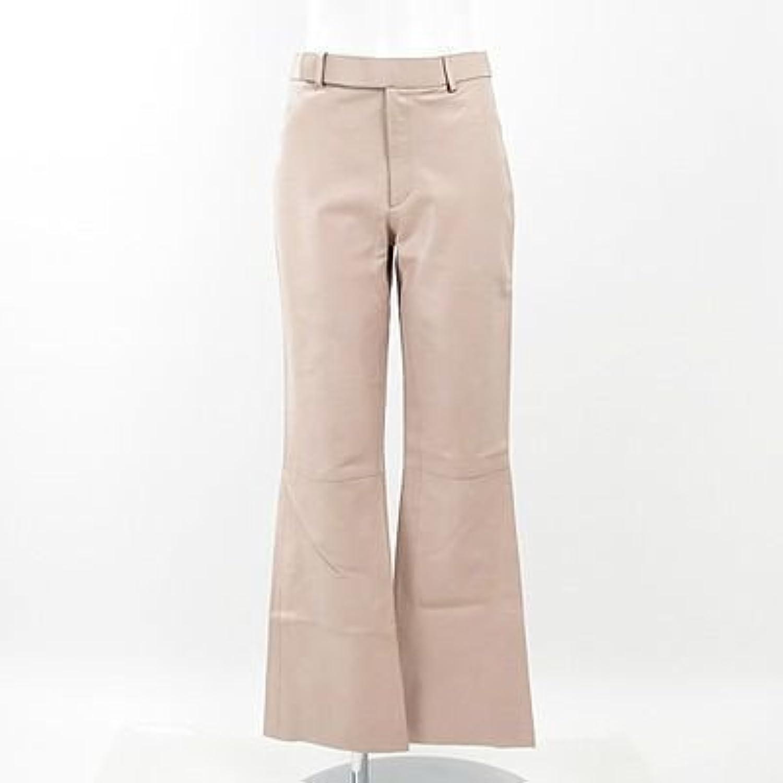 (グッチ) GUCCI 薄ピンクカーフパンツ 40