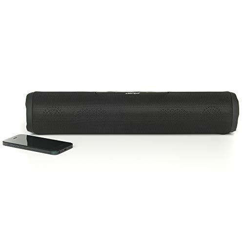 Intempo® EE2679BLKSTKEU Bluetooth-Party-Textillautsprecher, groß, mit verstärkten Bässen, schwarz