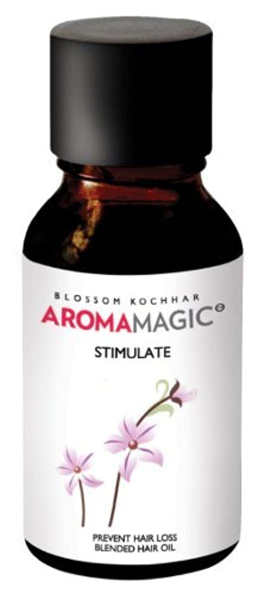 居間不機嫌広告するAroma Magic Blended Hair Oil Stimulate 15ml by Aroma Magic [並行輸入品]