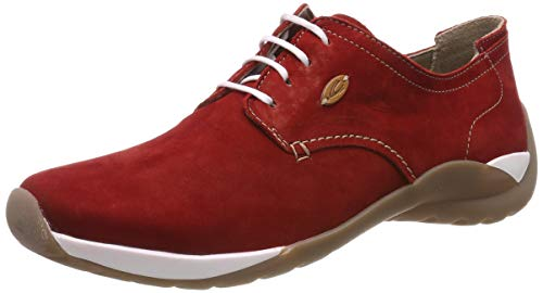 camel active Damen Moonlight Derbys, Rot (Red 1), 38 EU
