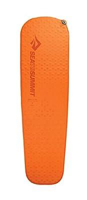 Sea to Summit Ultra Light Self-Inflating Lightweight Camping & Backpacking Sleeping Mat, Orange, Regular