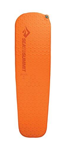 Sea to Summit Ultraleichte, selbstaufblasende Isomatte für Camping und Rucksackreisen, Unisex, 966, Orange, Regular