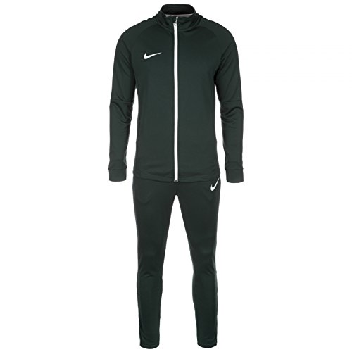 Nike M Nk Dry Acdmy Trk K Tuta, Seaweed/Seaweed/Bianco/Bianco, XL