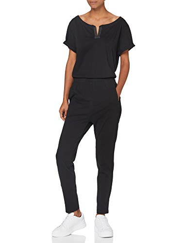 G-STAR RAW Damen Jumpsuit Cocaux Straight Suit, Schwarz (Dk Black B771-6484), Small