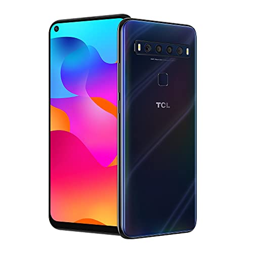 TCL 10L, Unlocked Android Smartphone with 6.53' FHD + LCD Display, 48MP Quad Rear Camera System, 64GB+6GB RAM, 4000mAh Battery