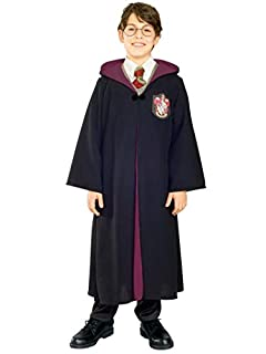 Harry Potter And The Deathly Hallows Costume, Child's Deluxe Harry Potter Robe With Gryffindor Emblem Costume, Small (size 4-6) (B003JMEWNC) | Amazon price tracker / tracking, Amazon price history charts, Amazon price watches, Amazon price drop alerts