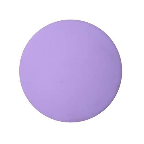YYLL Topes Tapón de Tope de Puerta de la Puerta, Pomo de Goma Fender Candado de Seguridad en la Puerta del cojín Crash Pad Pared Protector Savor a Prueba de Golpes Crash Pad Parada (Color : Purple)