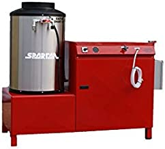 Spartan Big Blast 5300 STNG/3Ph/230V Hot Water Pressure Washer, 230V/3 Phase, 10 hp Natural Gas Fired Electric Motor, 3000 psi, 5.0 GPM
