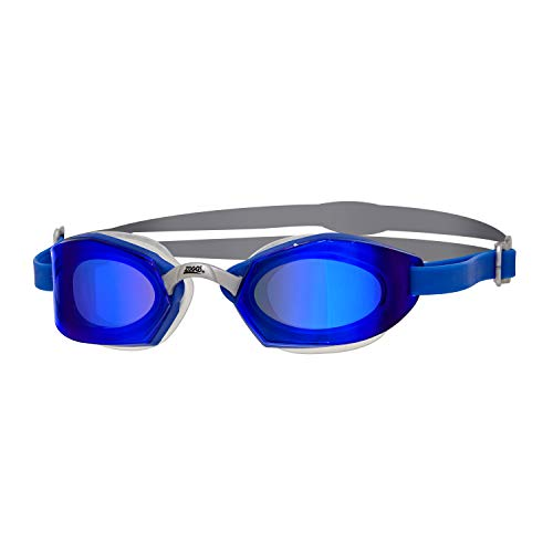 Zoggs Ultima Air Schwimmbrille, Blue/Titanium, One Size