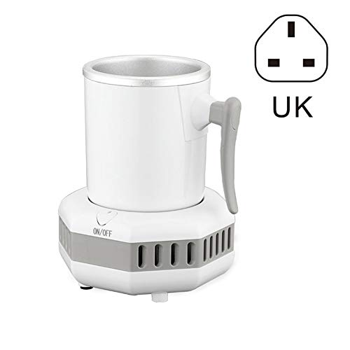 Rovive Smart Fast Cooler Tasse, 420 ml Smart Getränkekühler Cup Fast Cooler Elektrischer Kühlbecher Mini Desktop Kühlschrank für Schreibtisch Kaffee Bier Cola Wasser Wein Drink