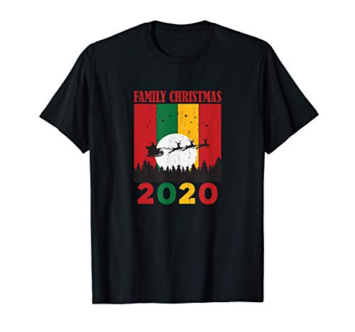 Noël en famille 2020 - Grunge de vacances coloré mignon T-Shirt