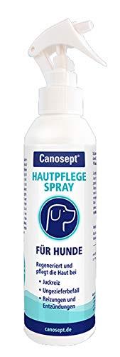 Canosept Hautpflegespray für Hunde 250ml - Regeneriert die Haut bei Juckreiz, Ungezieferbefall, Milben, Reizungen & Entzündungen