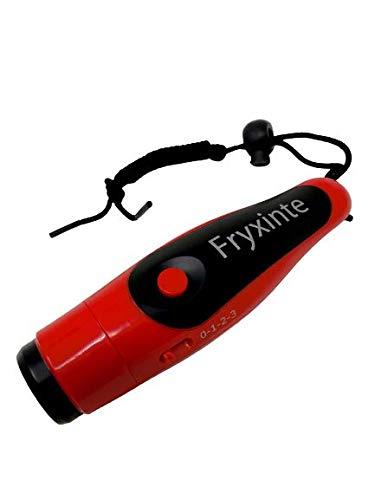 PRODUCK ホイッスル 電子 笛 3段階の音調節可能 ブザー スポーツ 審判 (レッド)