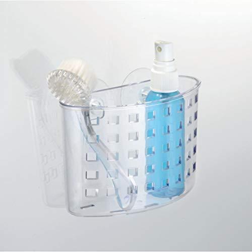 InterDesign 風呂 バスルーム シャワー 小物 収納 吸盤 オーガナイザー 23500EJ-2