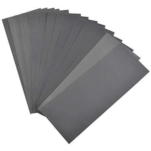 Papier de verre papier abrasif carrosserie feuilles abrasives papier poncer mur papier de verre bois Papier à Poncer à l'eau pour métal, voiture, Meubles-Grain de 400/600/800/1000/1200/1500/2000