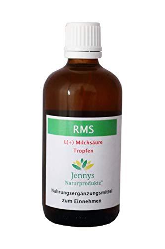 RMS - rechtsdrehende Milchsäure - 100 ml - Nahrungsergänzungsmittel von Jennys Naturprodukte