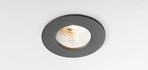 Modular Lighting 14040171 LED-Spot, K72-25°, 2700 K, 350-500 mA, Durchmesser 65 mm, Grau