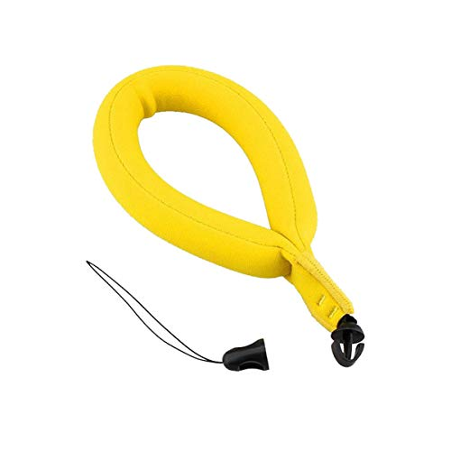 N-A Camera Float, Electronic Product Bubble Floating Wrist Strap for Underwater Swimming Rafting, Yellow
