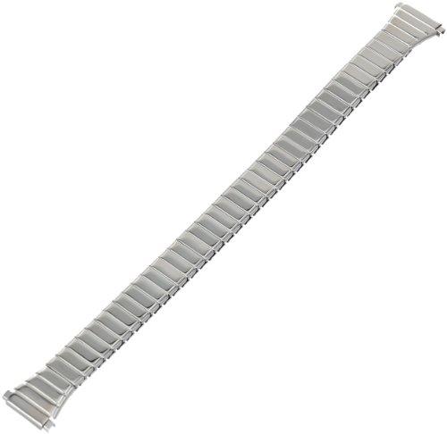 Timex Ersatz-Uhrenarmband für Damen, Q7B754, Edelstahl, Erweiterung, 11–14 mm