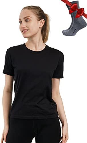 Merino.tech Merino Wool T Shirt Women –...
