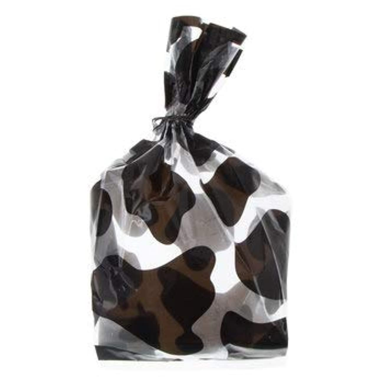 Black and White Cow Print Treat Bags Cello Party Supplies 20 Bags