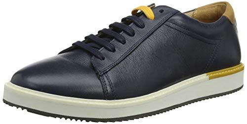 Hush Puppies Herren Heath Sneaker, Blau (Navy Leather Navy Leather), 40 EU