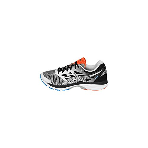 Asics Gel-Cumulus 18, Zapatillas de Running para Hombre, Blanco (White/Silver/Black), 41.5 EU
