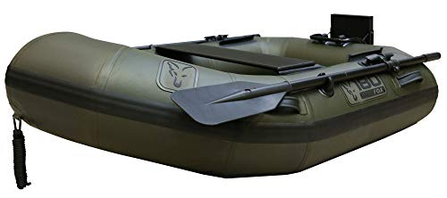 Fox 180 Green Inflatable Boat 1,80m - Schlauchboot zum Angeln auf Karpfen & Waller, Angelboot zum Auslegen von Montagen, Boot