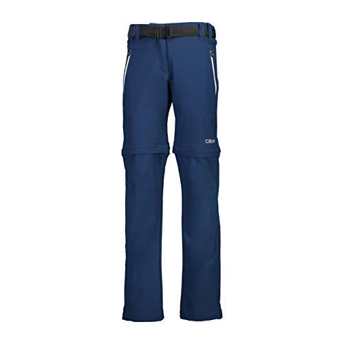 CMP M dchen Dry Function Trousers Zip Off Wanderhose, Blue-stone, 164 EU