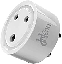 Hoteon 10A Mini Smart Plug Outlet Socket Compatible with Alexa Google Assistant No Hub Required Control Your Devices from Anywhere (1 Pcs)