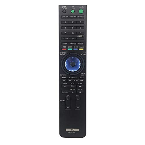 PROROK New Remote Control RMT-B101A fit for Sony BD Blu-Ray Player BDP-S300 BDP-S300B BDP-S301 BDP-S500 BDP-S1100 BDPS301 BDPS300 S300SM WMS301 WMS500 S2000ES
