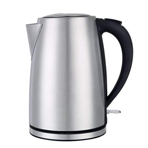 Electric Kettle,Túasia Hot Water Kettle 1.8 Liter, Stainless Steel Cordless Electric Tea Kettle 1200W, Auto Shut-off, Boil-Dry Protection, Perfect For Brewing Teas, Coffee