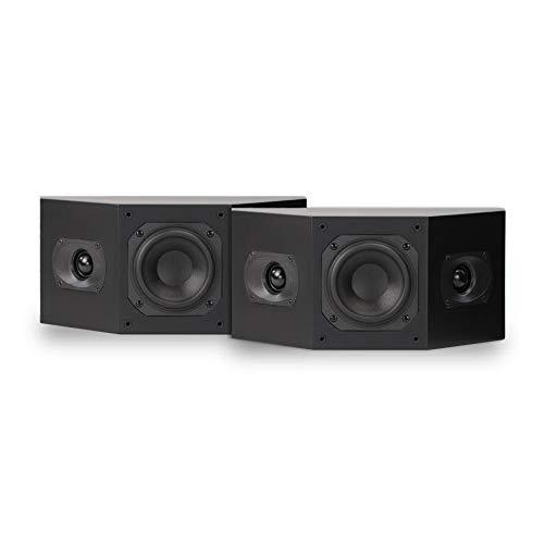 Best Deals! Aperion Audio Intimus 4BP 4-inch HiFi Home Theater Surround Satellite Bipole Speaker (Pair Matte Black)