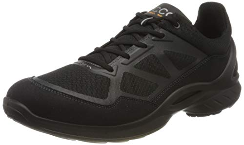 ECCO, Men's Biom Fjuel Runner Athletic Sneaker, Black, 46 (12-12.5 M US)
