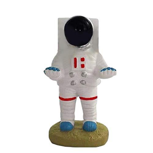 Banane Spaceman Brillenhalter aus Kunstharz, zum Basteln, Dekoration für Zuhause, Büro, dekoratives Brillenzubehör (Astronaut)