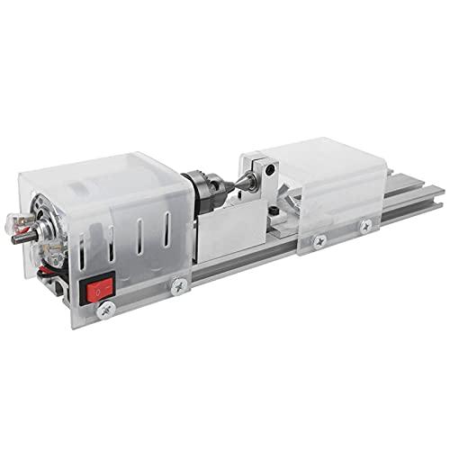 Mini Molienda Torno Máquina, 140mm con Aleación 12-24v corriente continua 325 X 60 X 70mm
