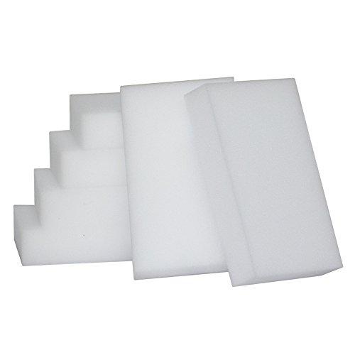 50 Stück Schmutzradierer Schwamm 10 x 6 x 2cm Nano Radierschwamm Wunderschwamm Zauberschwamm Reinigungsschwamm für Wand Tapete Schuhe Fußboden