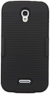 Asmyna Phone Case for ALCATEL 5042T (OneTouch Pop Astro) - Retail Packaging - Black
