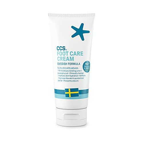 CCS Professional Fußpflegecreme, 175 ml, 10 Prozent Harnstoff
