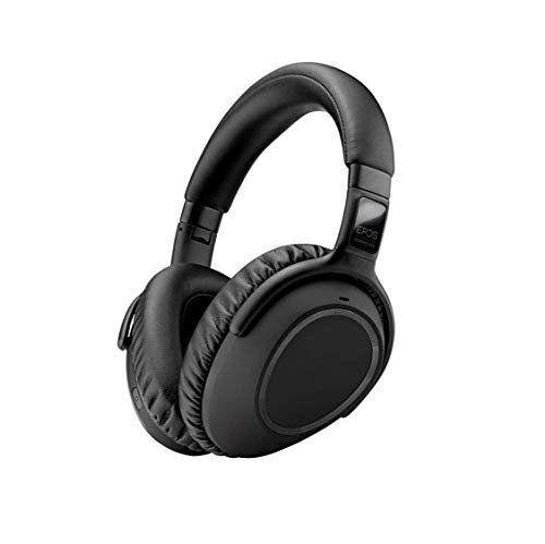 EPOS | SENNHEISER Adapt 660 (1000200) - Dual-Sided, Dual-Connectivity, Wireless, Bluetooth, Adaptive ANC Over-Ear Headset | for Desk/Cell Phone & Softphone | Teams Certified (Black)
