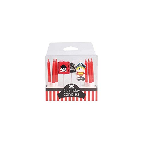 Pirate Cake Candles - 9 Candles