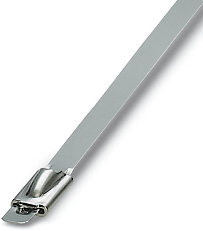 PHOENIX CONTACT Kabelbinder WT-STEEL S 4,6X201, 100 Stück, 3240808 B00B7ZU9JE   Hohe Qualität