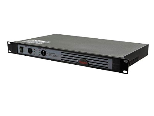 Monoprice 300-Watt (150w RMS x2) Studio Audio Amplifier (605030) Black