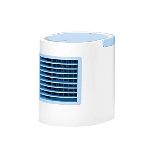 BHJqsy Ventilador de Aire Acondicionado pequeño/Ventilador de refrigeración/Ventilador portátil/Ventilador silencioso/Ventilador de Escritorio/Ventilador USB/Enfriador de Aire Mini ventila