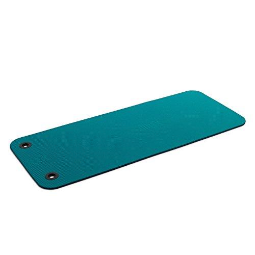 Airex Fitline 140 x 58 - Colchoneta de Pilates (10 mm, 140-160cm, a 50 cm, 140-179 cm, de 140 a 180 cm, 180-200 cm), Color Turquesa, Talla 140
